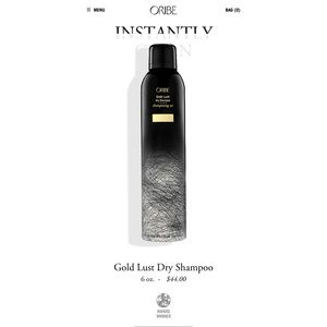 Other - Oribe gold lust dry shampoo